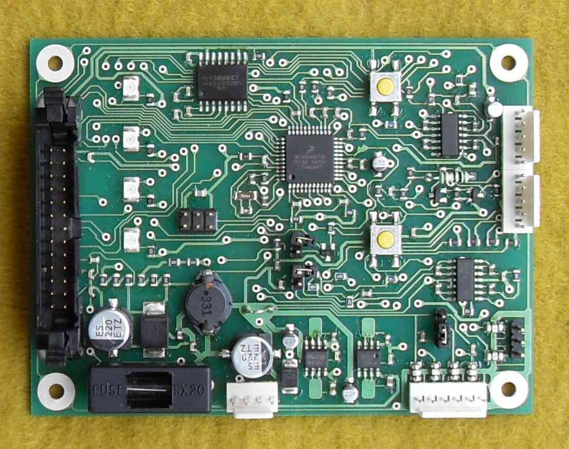 Customer specific surface mount PCB designed by Cigol Controls