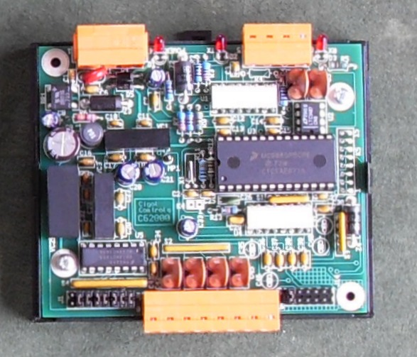 Picture of FLM-100 4 Channel Water Flow Sensor Interface PCB