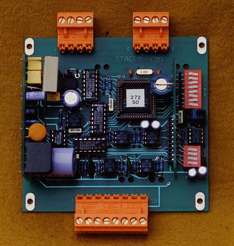 Picture of the PCB used for the NDIC-UK